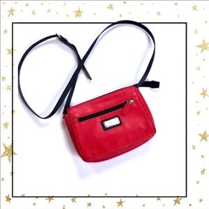 Nine West Coral Red Crossbody purse